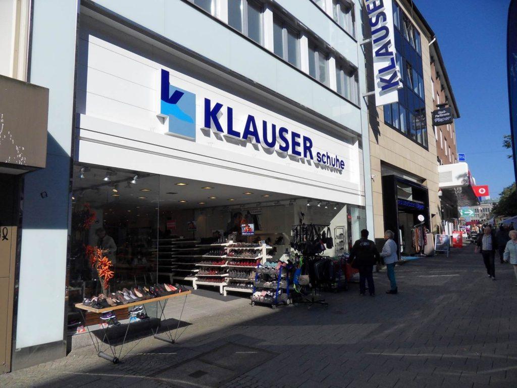 Klauser Schuhe WIR Solingen